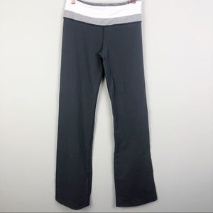 LULULEMON | Groove Pants Charcoal Gray & White 6